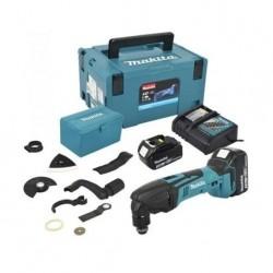Akumulatorowe narzędzie wielofunkcyjne 18V Makita DTM50RFJX1