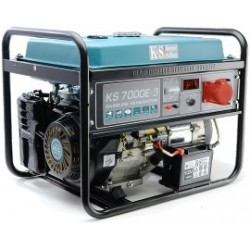 Agregat prądotwórczy benzyna-e 3 fazy KS7000E3