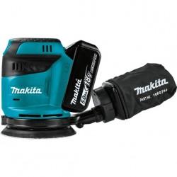 Akumulatorowa szlifierka mimośrodowa 18V Makita DBO180RTJ
