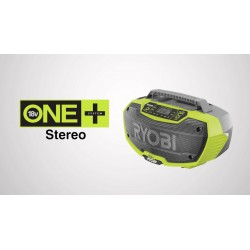 Radio stereo 18V z technologią bluetooth R18RH-0 Ryobi
