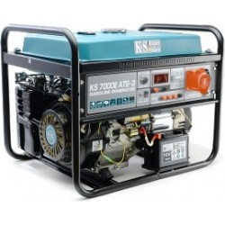 Agregat prądotwórczy benzyna-e-auto 3 fazy KS7000E3AT