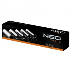 """Zestaw nasadek udarowych 1/2"""" 10-24mm 11 elementów Neo 12-102"""