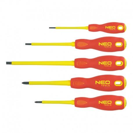 Zestaw wkrętaków 1000V 5szt. SVCM Neo 04-220