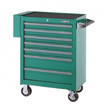 Wózek narzędziowy 7 szuflad 299 narzędzi SATA 95107-2