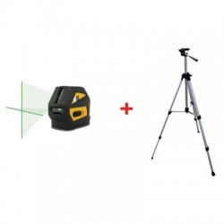 Laser krzyżowy CL1G + statyw z wysięgnikiem